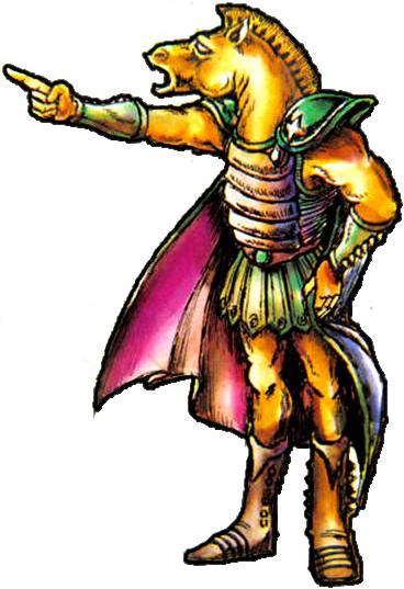 Boss dans The Adventure of Link
