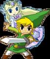 Link and Princess Zelda (Spirit Tracks)
