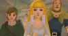 Zelda, Hergo et Link