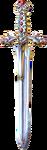 The Adventures of Link The Legend of Zelda Collector's Edition Magical Sword (Artwork)