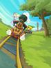 Link et Zelda locomotive