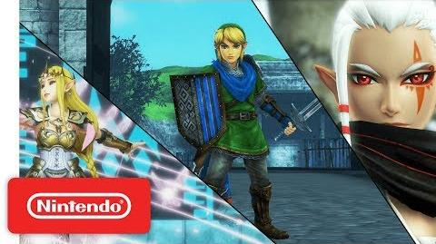 Hyrule Warriors Definitive Edition - Character Highlight Series Trailer (1)