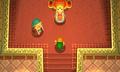 Link se entrevista con Zelda ALBW
