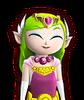 Portrait Zelda Cartoon HWL4