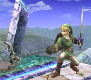 Link utilizando la zarpa 2 SSBB