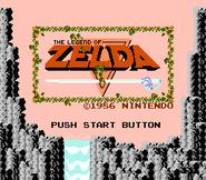 Title Screen (The Legend of Zelda)