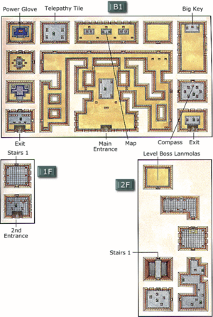 Map of the Desert Palace