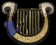 Hyrule Warriors Goddess's Harp (Render)