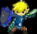 Toon Link Espada ligera Trenebunda Escudo espejo HW