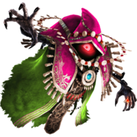 Promotional Render of Wizzro in his Standard Outfit (Grand Travels) from Hyrule Warriors Legends