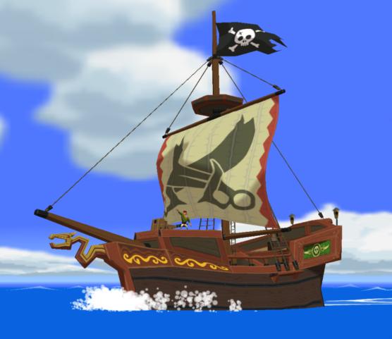 Bateau Pirate de Tetra