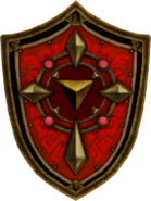 Hyrule Warriors Magical Shield (Render)