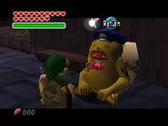 Goro-Link durmiendo