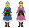 Skyward Sword Artwork Zelda - Beta Designs (Early Concept Artwork)