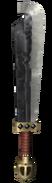 Skyward Sword Enemy Weapons Stalfos Sword (Render)