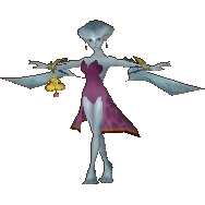 Render of Princess Rito in her Standard Outfit (Wind Waker) from Hyrule Warriors Legends