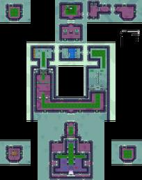 Castillo de Hyrule Tenebroso 1F