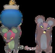 Rat Figurine