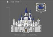 Hyrule Warriors Artwork Hyrule Castle (Final Concept Design)