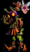 Skull Kid avec le Masque de Majora
