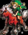 Link and Epona (Majora's Mask)