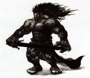 Skyward Sword Artwork Demon King Demise (Concept Artwork)
