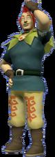 Groose as he appears in-game