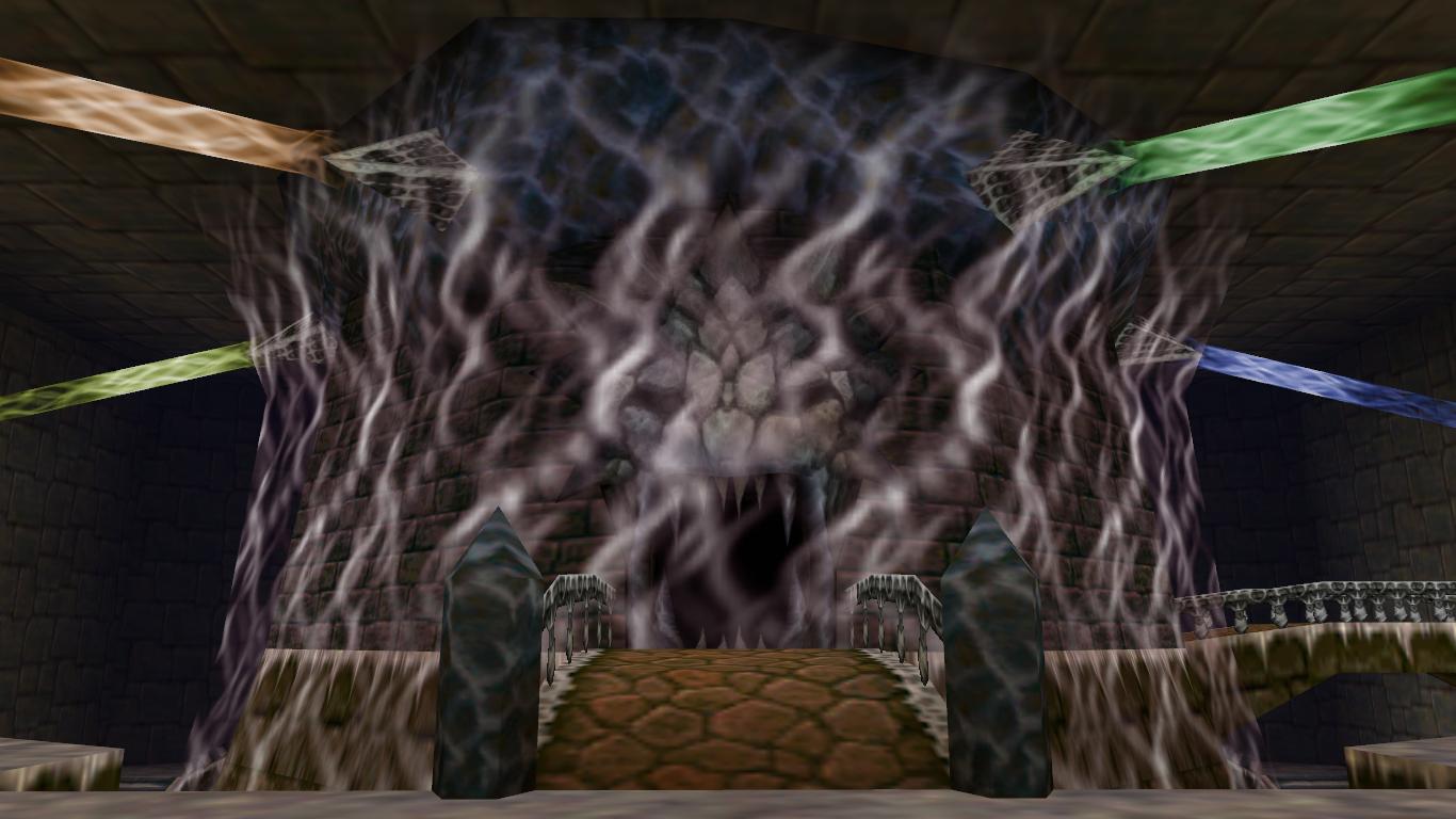 Inside Ganon S Castle Zeldapedia Fandom