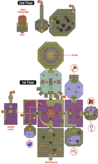 Map of Woodfall Temple