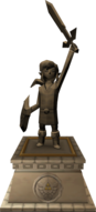 The Wind Waker Hyrule Castle Hero of Time Statue (Render).png