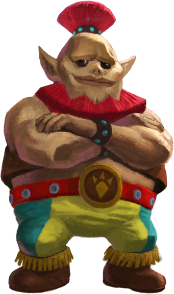 Rosso (A Link Between Worlds)