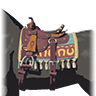 Breath of the Wild Horse Gear (Default Saddle) Stable Saddle (Icon)