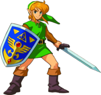 Link in A Link to the Past