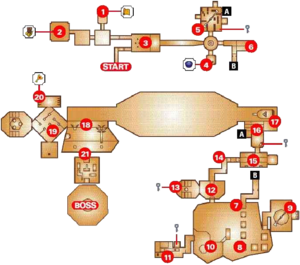 Map of the Shadow Temple