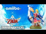 Switch - The Legend of Zelda Skyward Sword HD – Un NOUVEL AMIIBO Zelda 🥰 Trailer FR Officiel