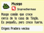 Musgo Información FPTRR