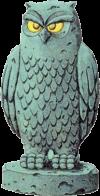 Estatua de búho