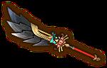 Hyrule Warriors Naginata Sheikah Naginata (Level 3)
