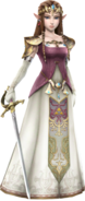 Hyrule Warriors Princess Zelda Era of Twilight Robes (DLC Costume)