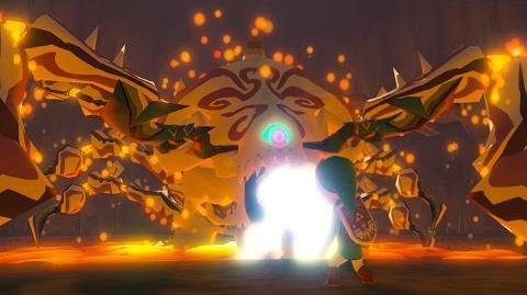 Zelda Wind Waker HD Gohma Boss Fight 1