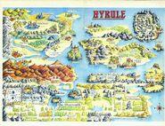 Hyrule Zeldas NES