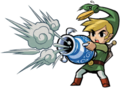 Link and the Gust Jar