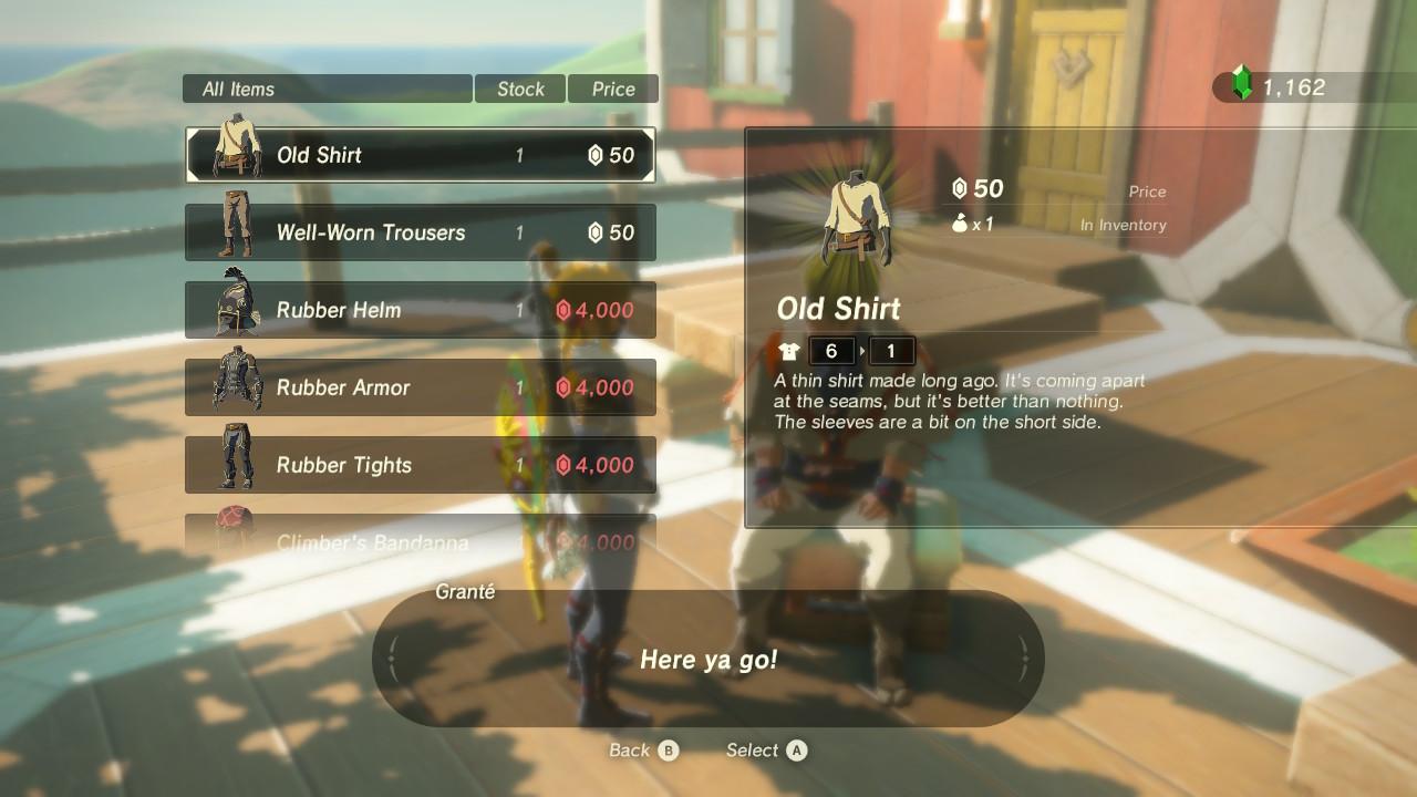 Rare Armor Shop
