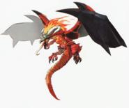 Hyrule Warriors Artwork Dragon Volga (Concept Art)