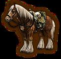 Hyrule Warriors Horse Twilight Epona (Level 2 Horse)