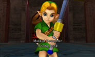 Hyrule Warriors Legends Young Link Masked Youngster, Young Link (Battle Intro)