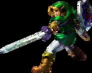 Link Atacando - Soulcalibur II