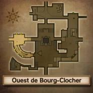 Carte Ouest de Bourg-Clocher MM3D