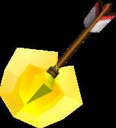 OoT3D Light Arrow Render