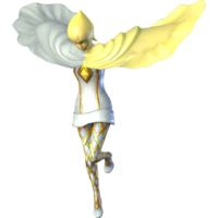 Render of Fi in her Standard Outfit (Twilight) from Hyrule Warriors